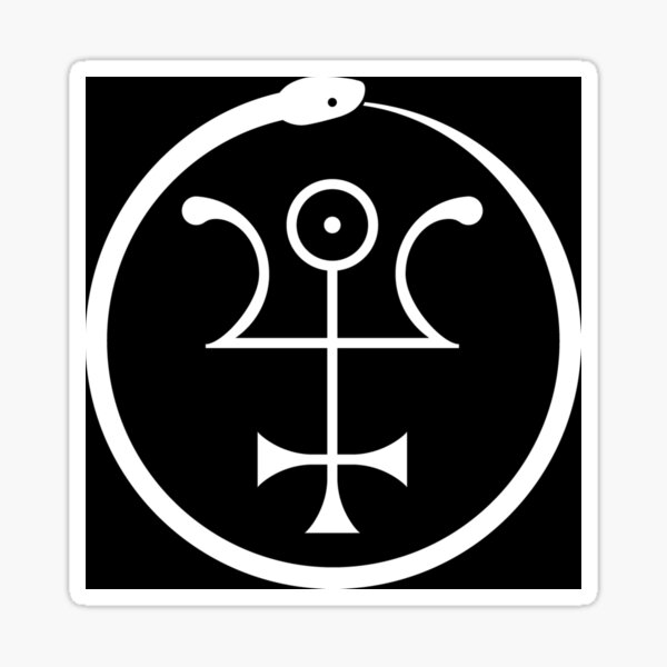 Copy of The Invisible Basilica Of Sabazius - Ordo Templi Orientis Clipart Sticker