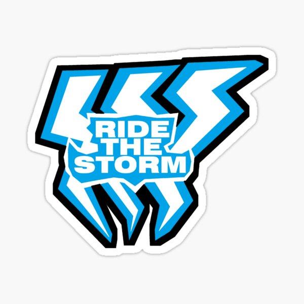 Nihil Ride the Storm Sticker