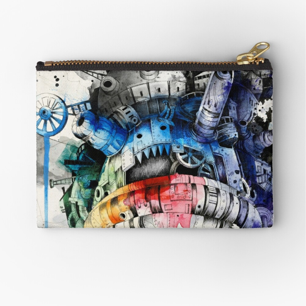 Howl's Moving Castle Zipper Pouch