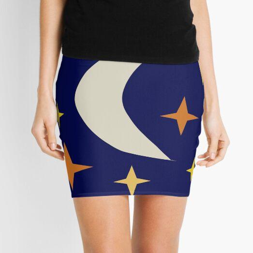 Celestial scene Mini Skirt