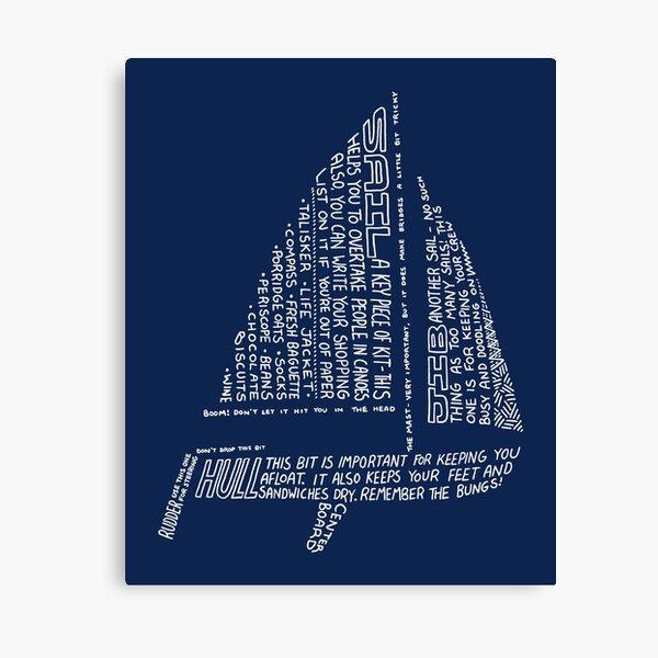 Sailing Tips Canvas Print