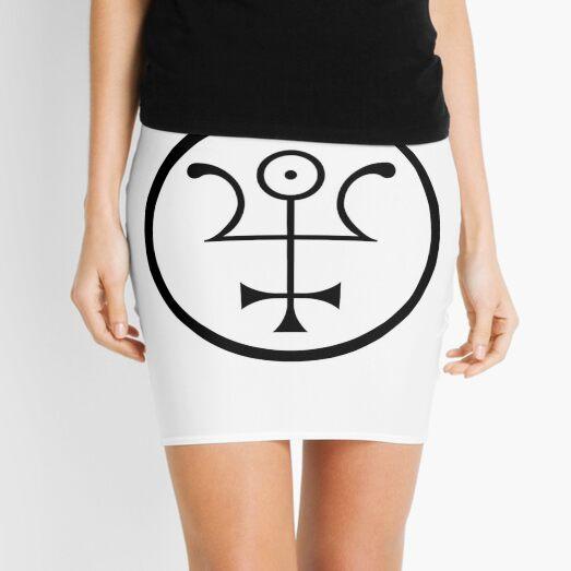 The Invisible Basilica Of Sabazius - Ordo Templi Orientis Clipart Mini Skirt