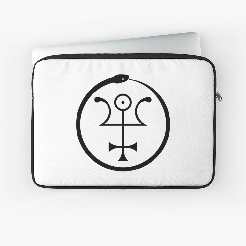 The Invisible Basilica Of Sabazius - Ordo Templi Orientis Clipart Laptop Sleeve