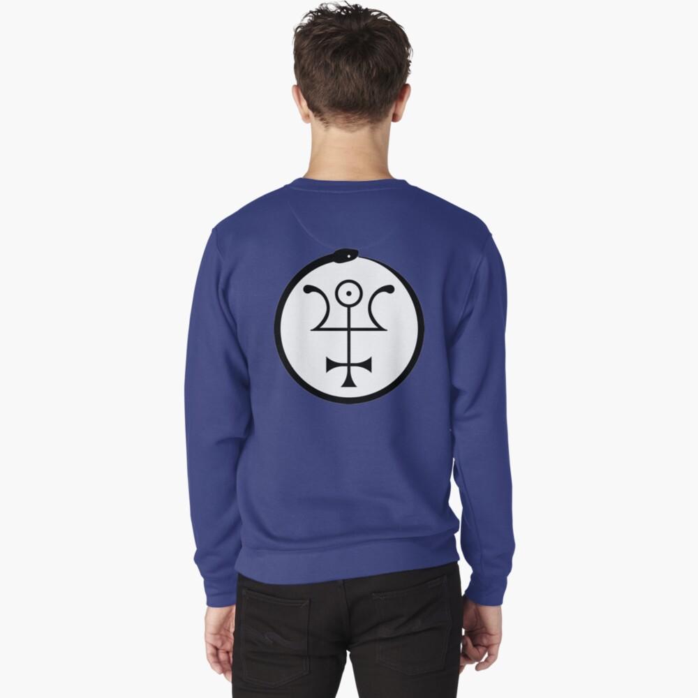 The Invisible Basilica Of Sabazius - Ordo Templi Orientis Clipart Pullover Sweatshirt