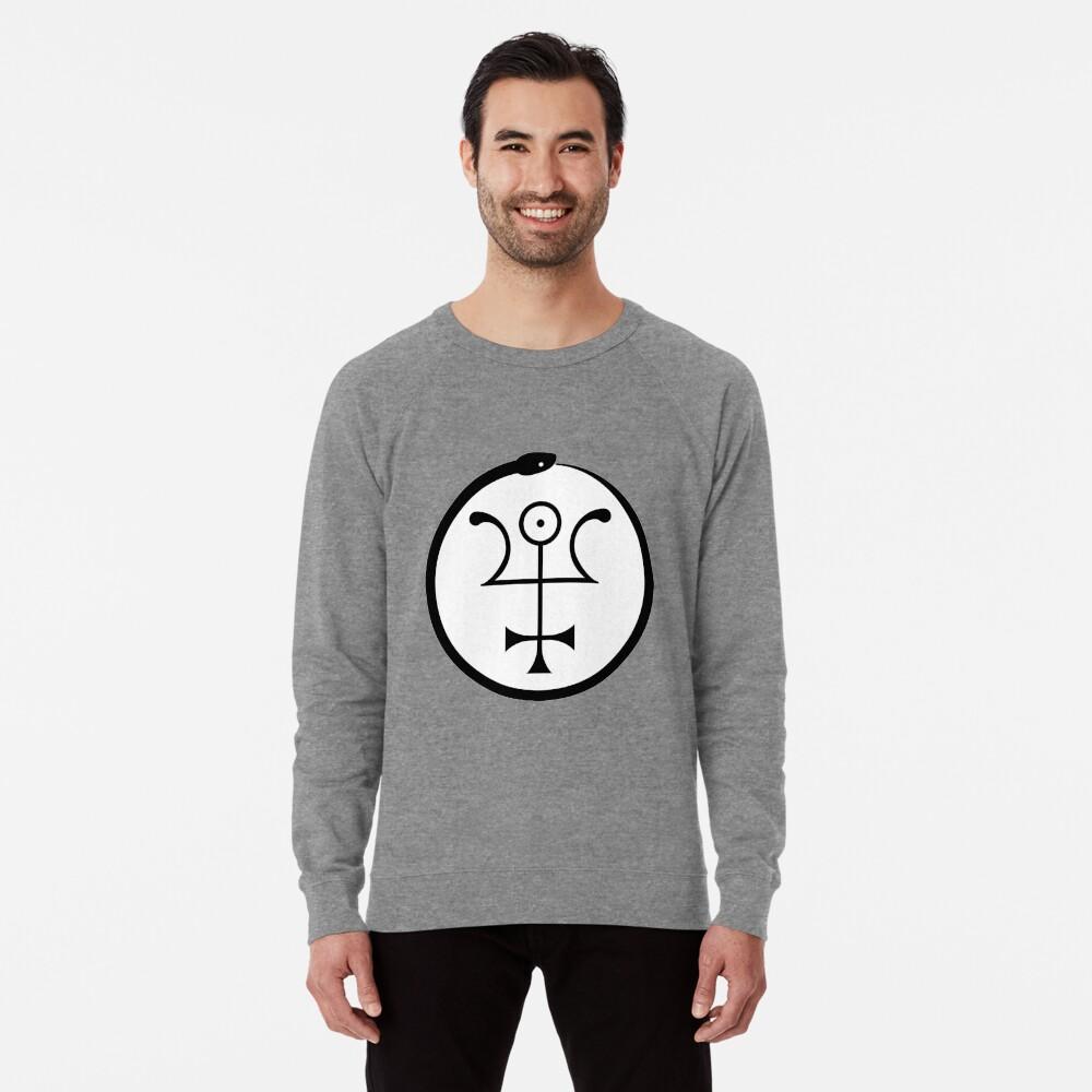 The Invisible Basilica Of Sabazius - Ordo Templi Orientis Clipart Lightweight Sweatshirt