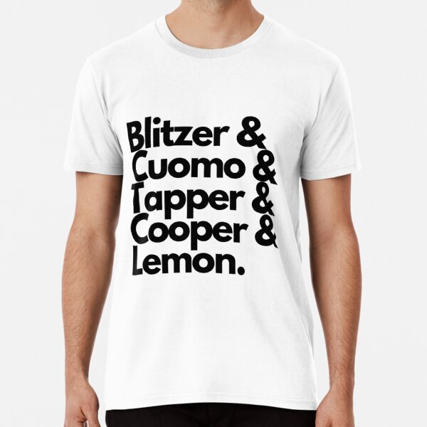 CNN's Journalists Premium T-Shirt