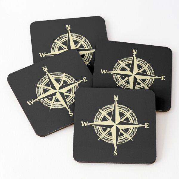 Nautical Coasters Coasters (Set of 4)