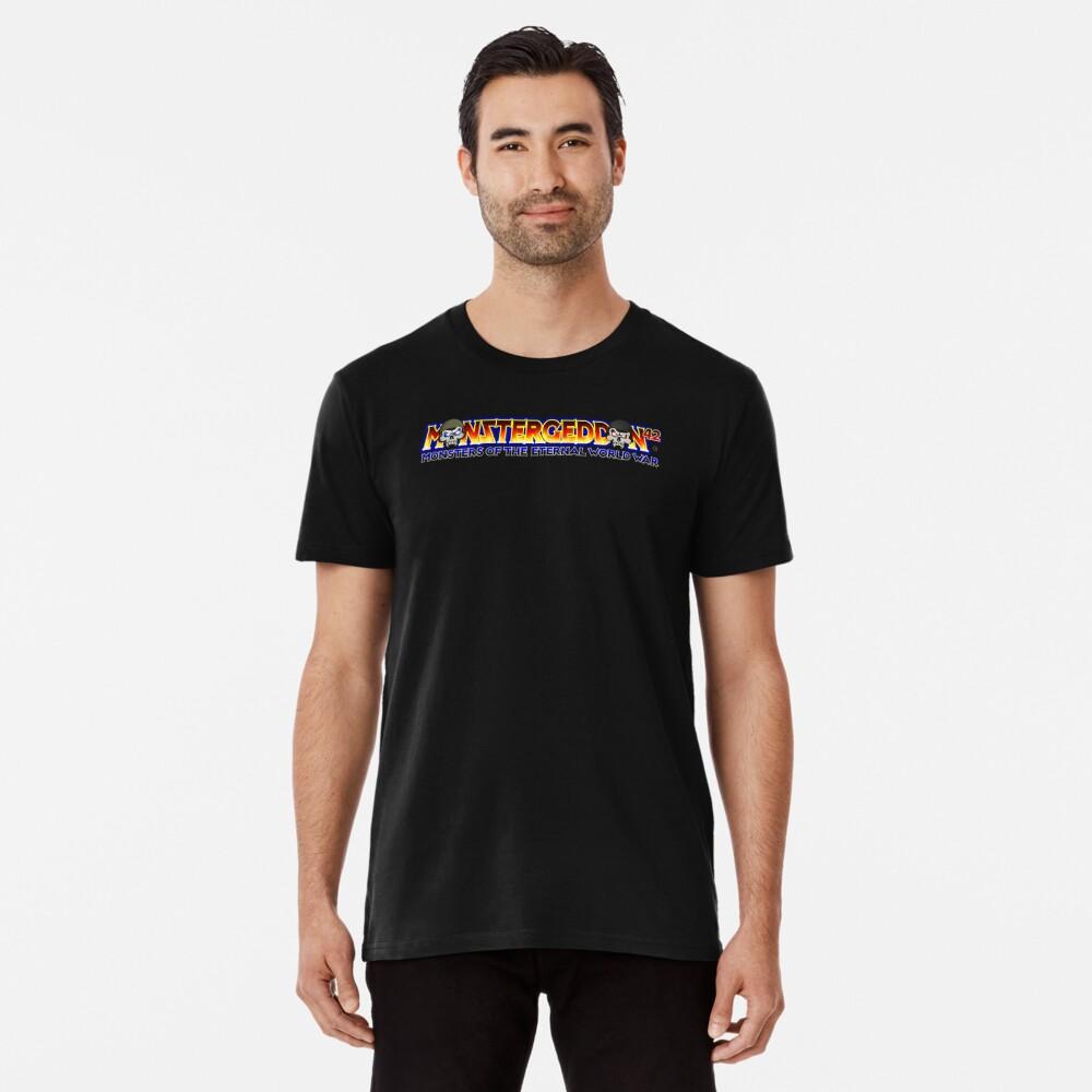 MONSTERGEDDON 42 Main Logo Premium T-Shirt