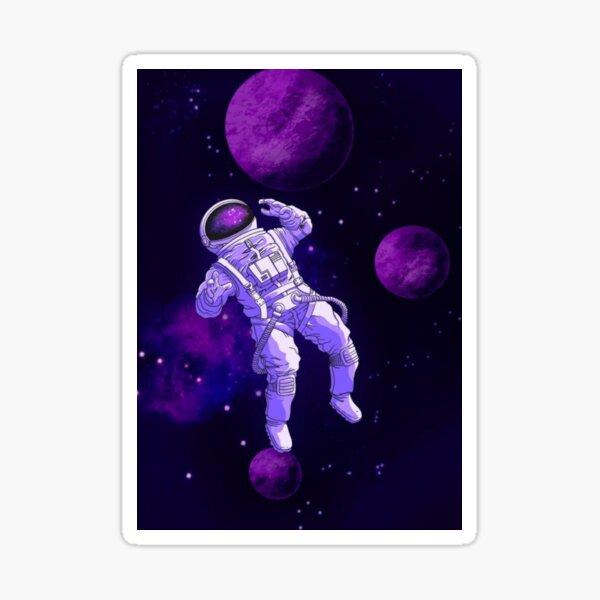 Astronaut In Space NASA  Sticker