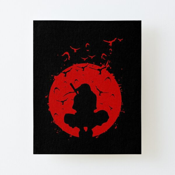 Itachi Uchiha Canvas Mounted Print