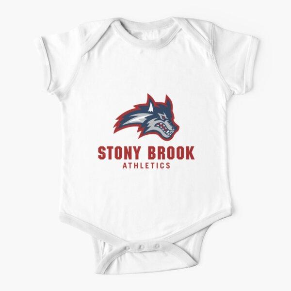 Stony Brook Seawolves Short Sleeve Baby One-Piece