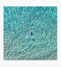 Ocean swimming Photographic Print