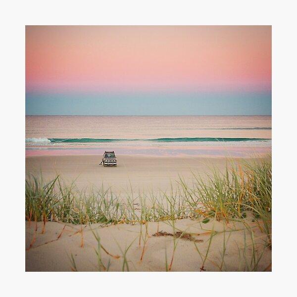 Twilight beach dreams Photographic Print