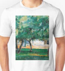1885 - Paul Cezanne - Farm in Normandy T-Shirt