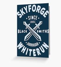 Skyforge Whiterun Greeting Card