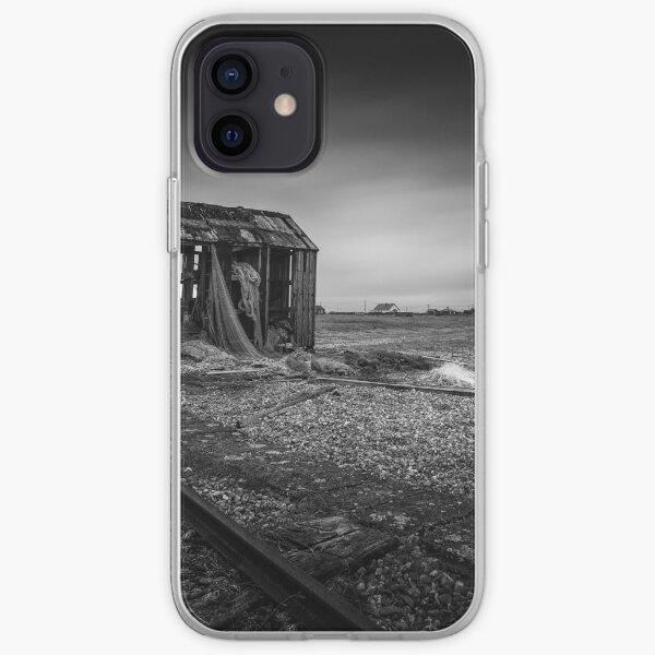Dungeness fishing shack iPhone Soft Case
