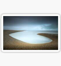 Dungeness Beach Sticker