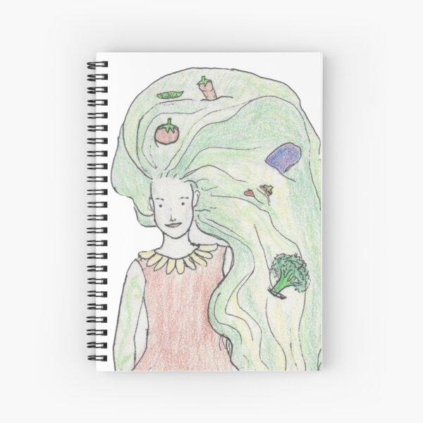 Veggie Woman! Spiral Notebook