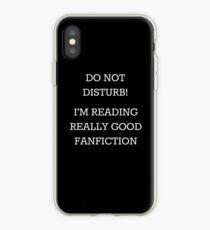 Bitte nicht stören! Ich lese wirklich gute Fanfiction iPhone-Hülle & Cover