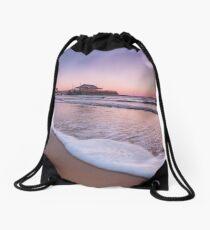 Broadstairs Sunrise Drawstring Bag