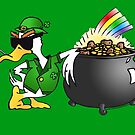 St. Patty's Day Duck by Dave-id
