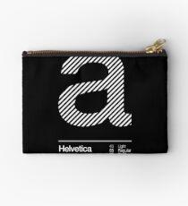 a .... Helvetica Neue Studio Pouch