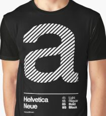 a .... Helvetica Neue Graphic T-Shirt