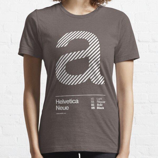 a .... Helvetica Neue Essential T-Shirt