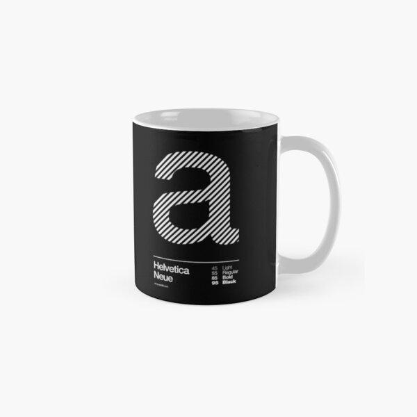 a .... Helvetica Neue Classic Mug