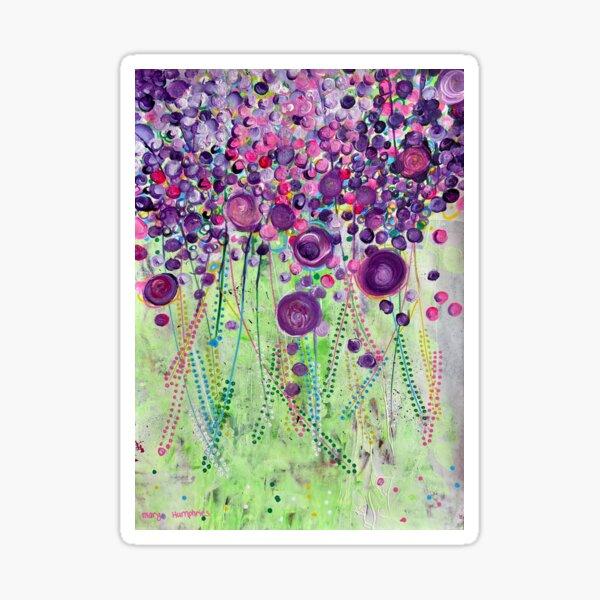 """Wisteria"" by Margo Humphries Sticker"