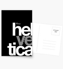 Hel ve tica .... Postcards
