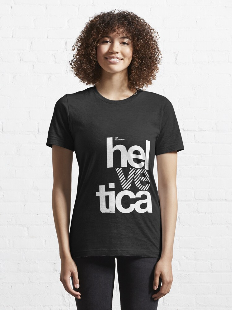 Alternate view of Hel ve tica .... Essential T-Shirt