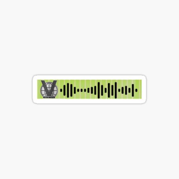 WAYV love talk eng. ver spotify code new version Sticker