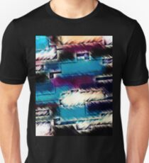 Geometric Layers Abstract Unisex T-Shirt