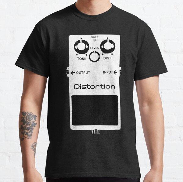 GUITAR PEDALS Recording Studio Engineer Guitarist Gear Foot Effect Pedals Music Illustration Sticker T-Shirt  Classic T-Shirt