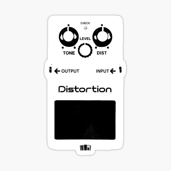 GUITAR PEDALS Recording Studio Engineer Guitarist Gear Foot Effect Pedals Music Illustration Sticker T-Shirt  Sticker