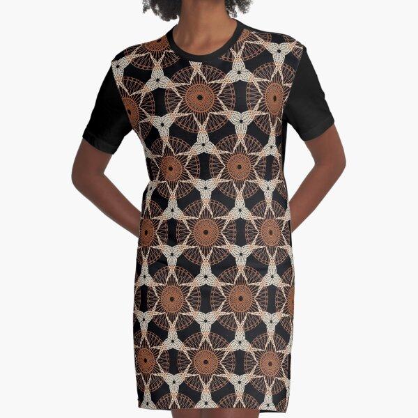 Woven wisdom Graphic T-Shirt Dress