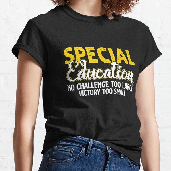 SPED Teacher Shirt Squad Tee T-Shirt T Shirt Womens Unisex Elementary Preschool Kindergarten Teacher Faculty School Staff Special Education