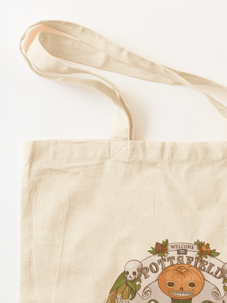 Alternate view of Pottsfield - Home of the Huskin' Bee Tote Bag