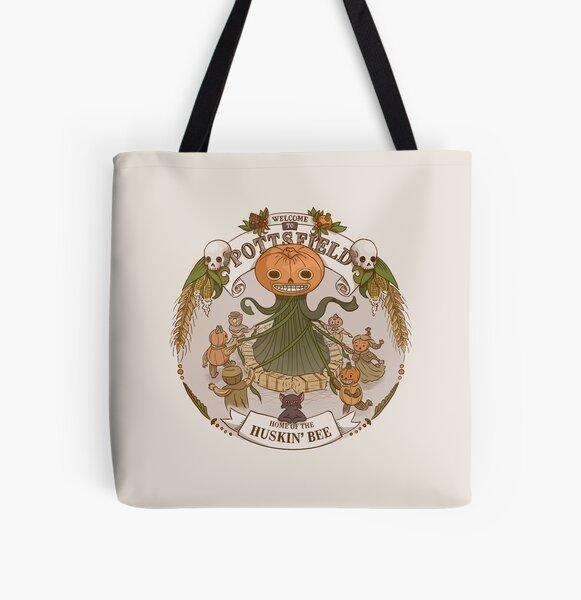 Pottsfield - Home of the Huskin' Bee All Over Print Tote Bag