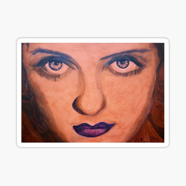 Betty Davis Eyes Sticker