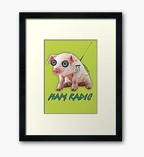 Ham Radio Framed Print