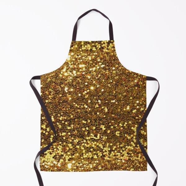 Gold Glitter Apron