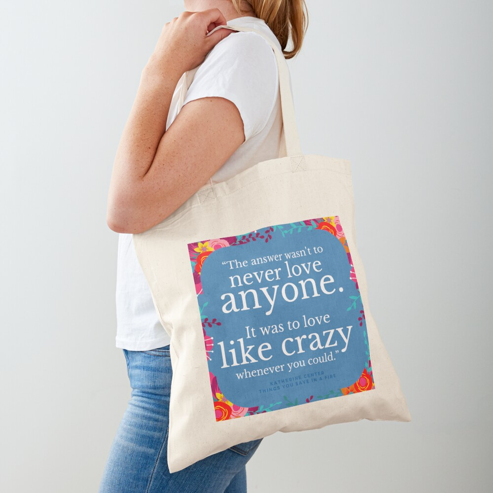 LOVE LIKE CRAZY Tote Bag