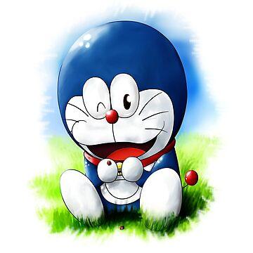 Doraemon Shirt by nachaompunx