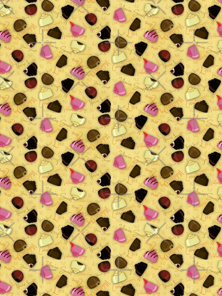 Sweet Valentine - Valentine's Day Candy Pattern by ButterflysAttic