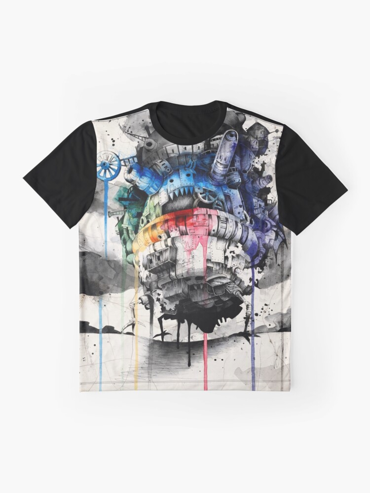 Alternate view of Howl's Moving Castle Graphic T-Shirt