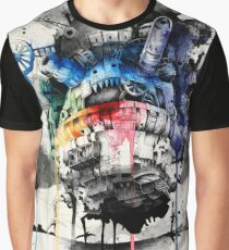 Howl's Moving Castle Graphic T-Shirt