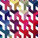 Seamless abstract pattern by Alexzel
