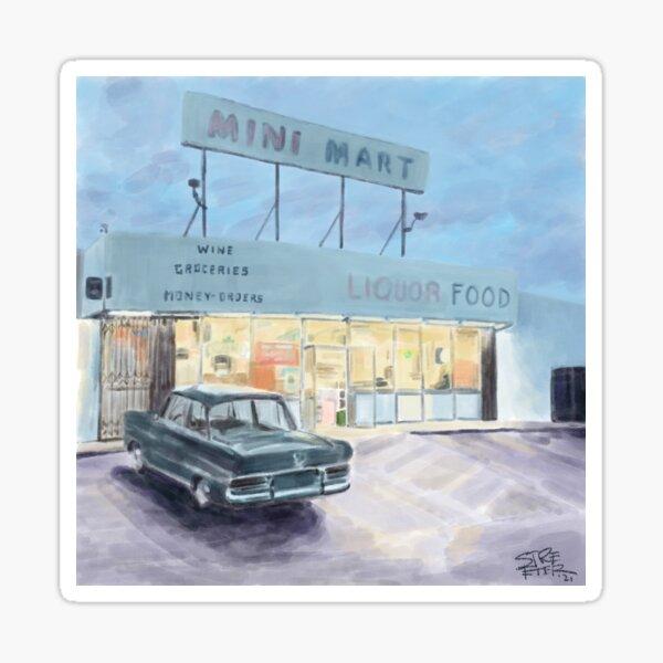 Mini Mart '21 by Betsy Streeter Sticker